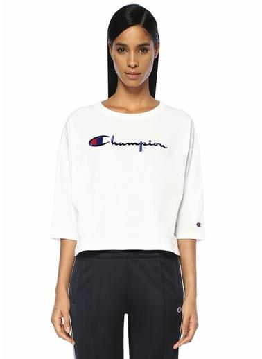 Champion Tişört Beyaz